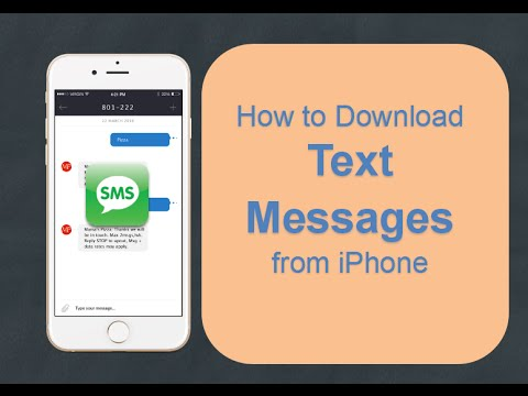 Top 2 Ways to Export text messages from iPhone