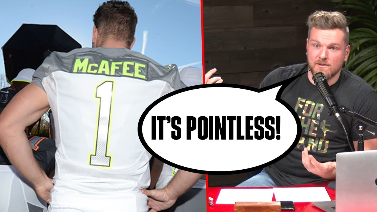 Why Pat McAfee HATES The Pro Bowl