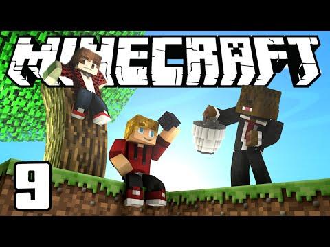 Minecraft SkyBlock Survival Episode 9! w/Mitch & Jerome