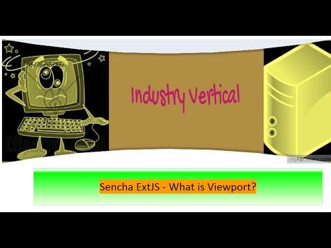 Sencha ExtJS 6 - What is Viewport?