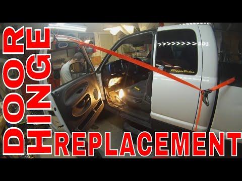 1999 Dodge Ram Door Hinge Replacement DIY