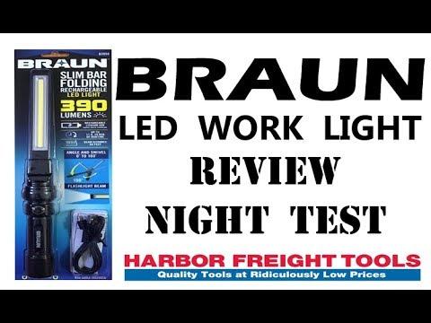 BRAUN LED LIGHT REVIEW