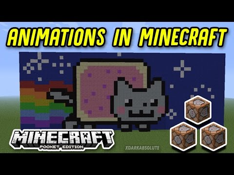 [1.0.5+] HOW TO MAKE ANIMATIONS IN MINECRAFT PE!!