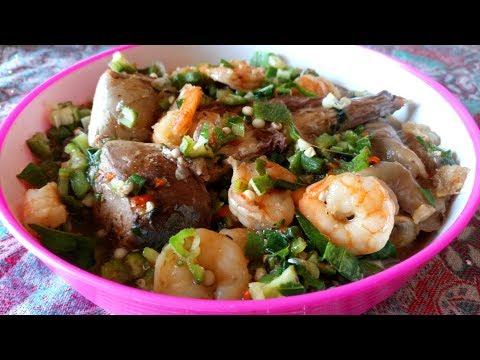 Seafood Okra Soup Recipe: Oil Free Seafood Okra Soup/Nigerian Gumbo