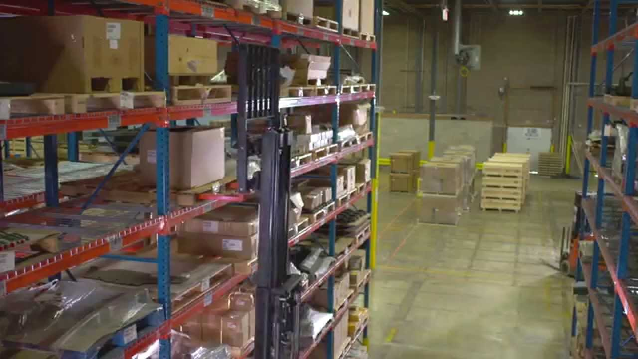 Toyota Material Handling | Warehouse Space Planning 101