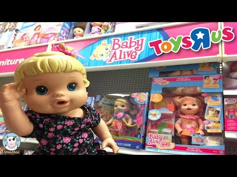 Baby Alive Bailey goes to Toys R Us