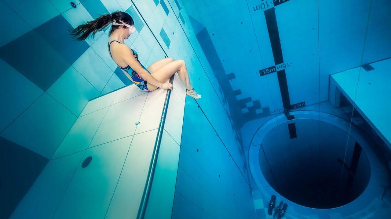 2021 - NEW DEEPEST Pool in the World - DEEPSPOT (NEW: DEEP DIVE DUBAI)