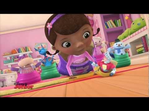 Sleep Over Party Games! | The Dark Knight | Doc McStuffins | Disney Junior UK
