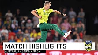 Proteas too good in rain-hit match