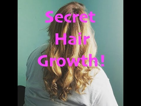 My Secret As To Why My Hair Grows So Fast!