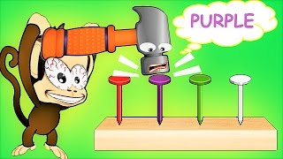 Children Learn And Have Fun With Baby Monkey – Fun Educational Games