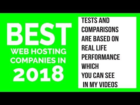 BEST WEB HOSTING COMPANIES FOR WORDPRESS 2018 REVIEW & TESTS SITEGROUND VS A2 HOSTING VS GREENGEEKS