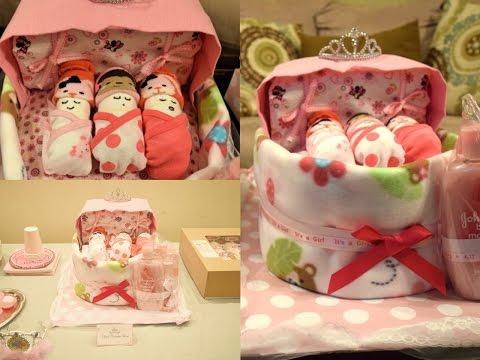 Baby Bassinet Diaper Cake |Easy DIY| Aseamae Natural