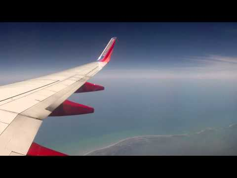 Timelapse: Southwest Airlines Boeing 737-700 Tampa - Key West (TPA-EYW) (4/2014)