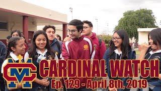 Cardinal Watch: ep. 129 - April 8th, 2019