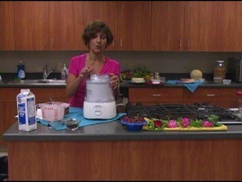 Ice Cream Maker Recipes: Strawberry Ice Cream