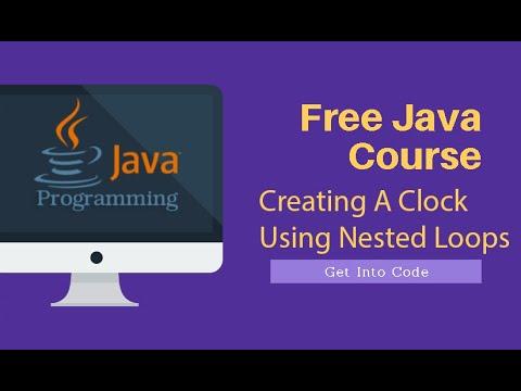 A Digital Clock In Java | getintocode.blogspot.com