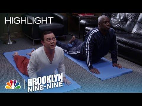 Charles Teaches Captain Holt Yoga | Season 5 Ep. 17 | BROOKLYN NINE-NINE