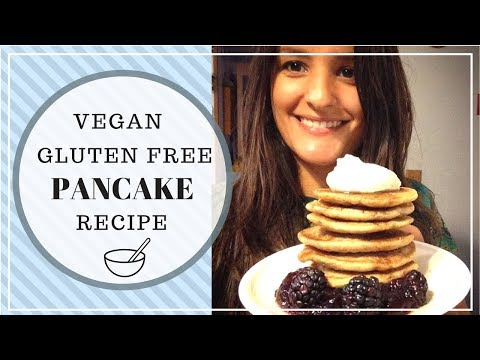 Gluten Free Vegan Oat Pancake Recipe