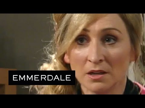 Emmerdale - April Drinks Laurel's Vodka And Orange