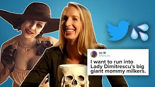 Lady Dimitrescu Reads Thirst Tweets
