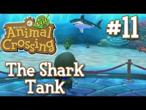 Let's Play Animal Crossing New Leaf - #11 - The Shark Tank (1080p) (3DS) (Live Commentary)