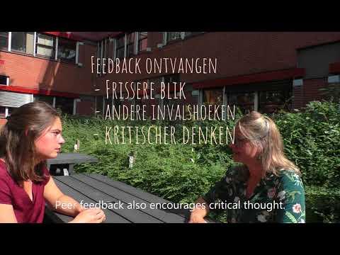 Peer feedback voor studenten