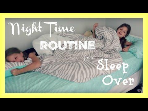 Night Routine | Summer Sleepover Routine and Sleep Over Ideas | best friends