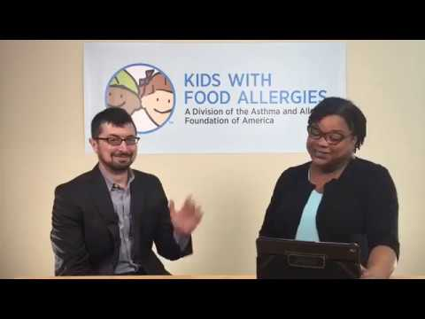 Facebook Live Chat: Back to School With Food Allergies