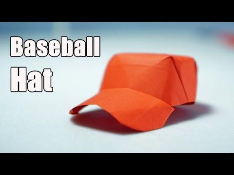 Paper Cap - Origami Baseball Cap tutorial - DIY (Henry Phạm)