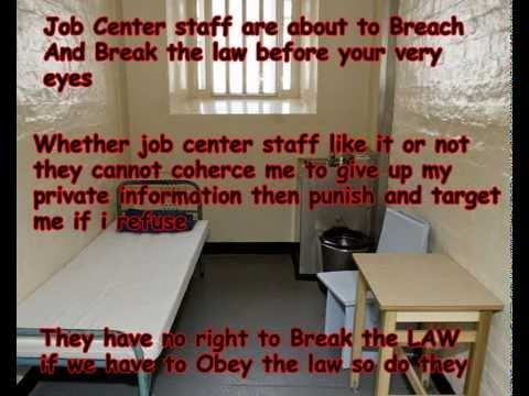 Job Centre staff breaking the law