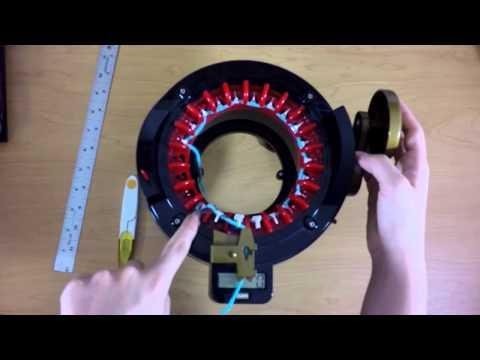 How to Make Flat Panels on an Addi Knitting Machine | Yay For Yarn