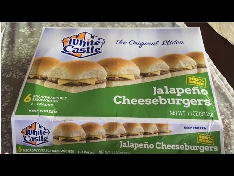 White Castle Frozen Jalapeno Cheese Slide Review