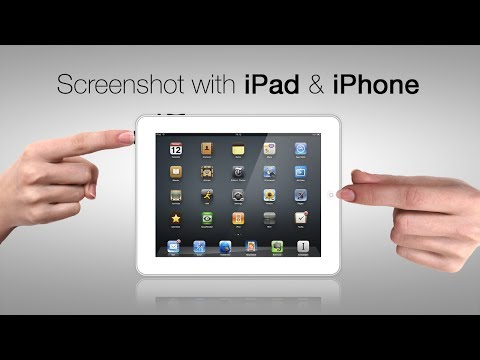 How to Screenshot with iPad & iPhone | TUTORIAL