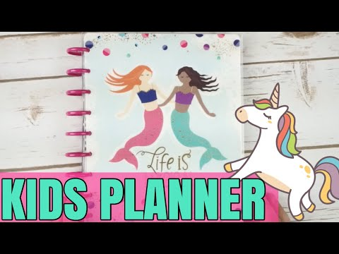 NEW RELEASE HAPPY PLANNER KIDS PLANNER FLIP THROUGH | CLASSIC SIZE HAPPY PLANNER