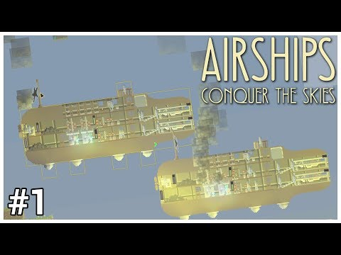 Airships: Conquer the Skies - #1 - Pigs CAN Fly! - Let's Play / Gameplay