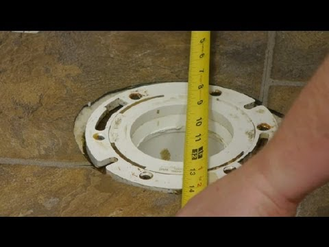 How to Install Toilets on Basement Floors : Toilet Repairs