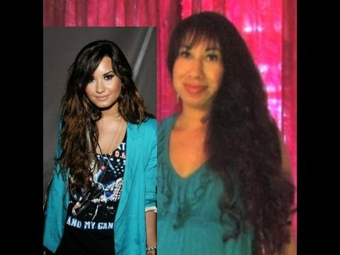 ♥ How to: DEMI LOVATO HAIR Inspired Wavy Curls Long Hairstyles Tutorial