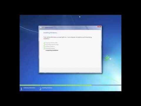 Installing Windows 7 RTM (build 7600) (final version) - On sun virtualbox (Mac Os x Leopard)