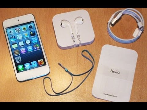 iPod Touch Unboxing / Setup / First Look / 5th Generation