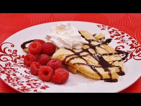 Crepes Recipe: How to Make Crepes: With Nutella! Easy Recipe: Diane Kometa: Dishin With Di  # 160