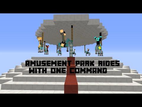 Amusement Park rides with two commands! [1.10]