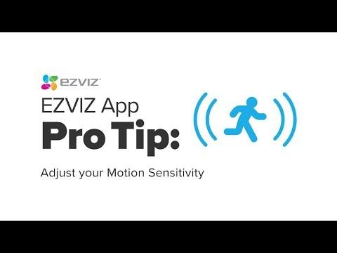 EZVIZ | ProTip EZVIZ App: Adjust your Motion Sensitivity