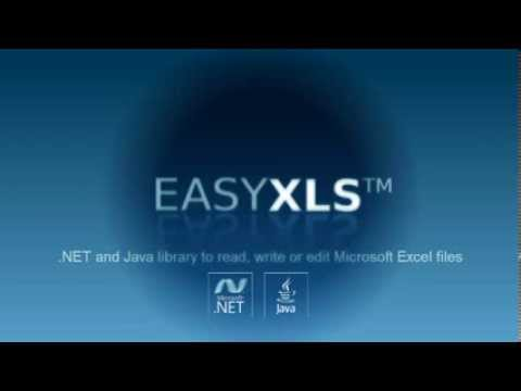 Easy XLS - API library for .NET and Java