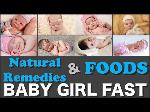 Natural Remedies and Foods to Conceive a Baby Girl Fast🍎🍒🍇