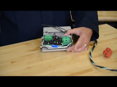 How To Wire 3 position selector switch to stacklight