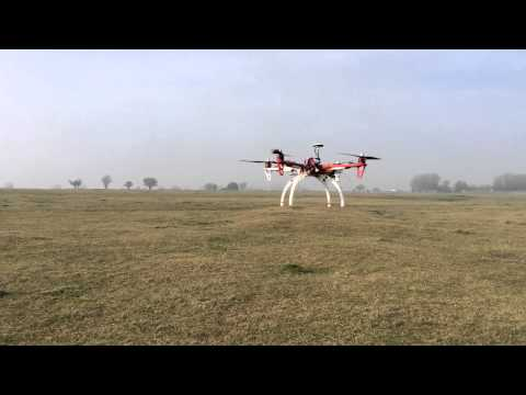 Autonomous Quad Copter Hovering at GPS home