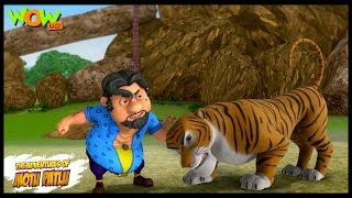 Motu Patlu New Episode | Hindi Cartoons For Kids | Nakli Sher | Wow Kidz