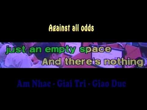 Against all odds - karaoke