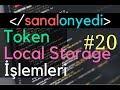 Download  #20 Login İşlemi - JWT Token - Local Storage MP3,3GP,MP4